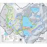Parc national du Mont-Saint-Bruno - Carte des activités hivernales 2020