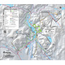 Parc national du Mont-Tremblant - Carte des activités hivernales 2021 (Secteur de la Diable)