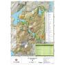 Parc national du Mont-Orford : Carte générale
