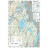 Réserve faunique de Papineau-Labelle : Carte de canot-camping (Secteur Nord)