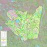 Réserve faunique du Saint-Maurice : Carte générale de chasse à l'orignal 2021