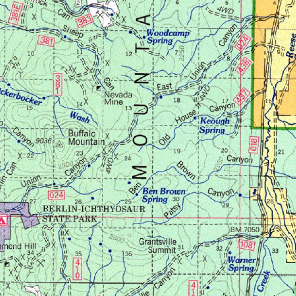 Humboldt-Toiyabe National Forest Tonopah Ranger District