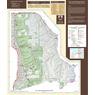 Uinta-Wasatch-Cache NF Salt Lake Ranger District Wasatch North Recreation Map 2019