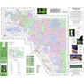 Clearwater National Forest Visitor Map West Half 2015 Limited Revision 2020