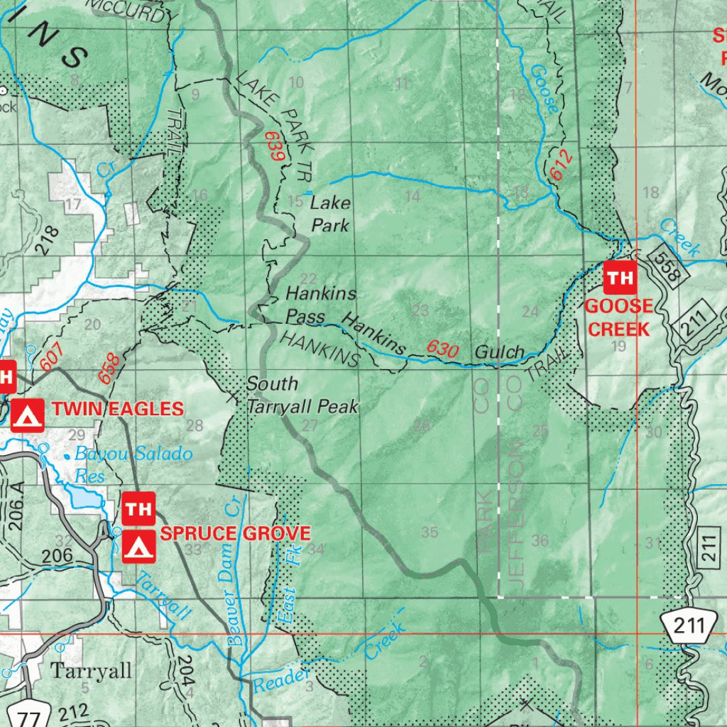 Pike National Forest Visitor Map - 2010 - US Forest Service R2 ...