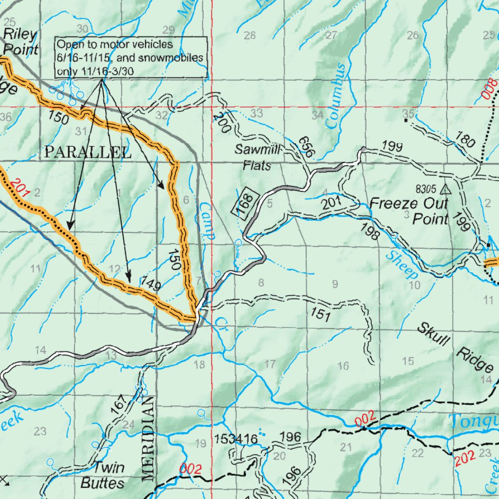Bighorn National Forest Visitor Map (North Half)- 2016 - US Forest ...