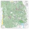 Black Hills NF - Mystic / Central Hills - Recreation Map