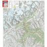 Monte Bianco, Courmayeur 1:25.000