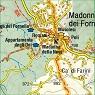 Via degli Dei 1:25.000 hiking & mountain bike map