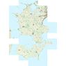 Region Sjælland (1:25,000 scale)