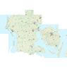 Region Syddanmark (1:25,000 scale)