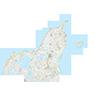 Region Nordjylland (1:50,000 scale)