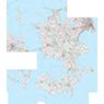 Region Sjælland (1:100,000 scale)
