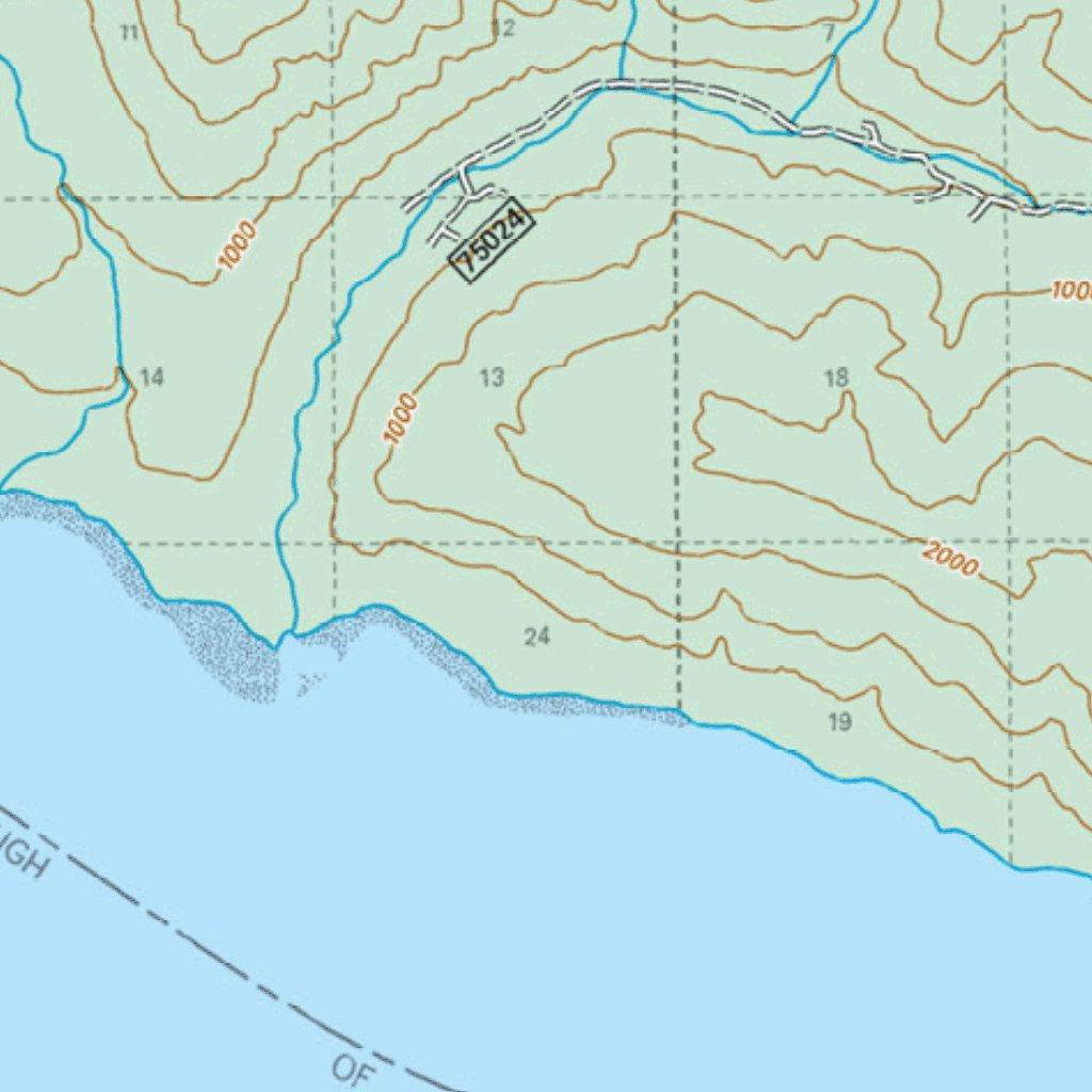 Chichagof Island Hoonah Area Hoonah Side Us Forest Service R10