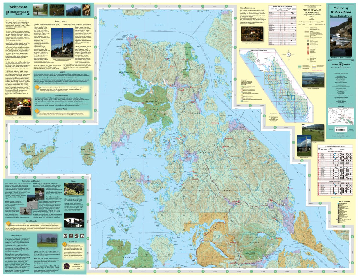 Prince Of Wales Island (North Side) - US Forest Service R10 - Avenza on army alaska, pup alaska, fish alaska, pot alaska, love alaska, usa alaska,