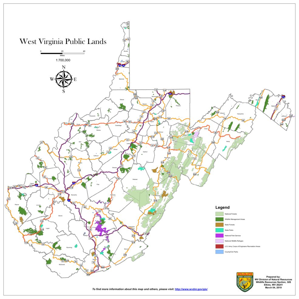 West Virginia Public Lands - WV Division of Natural ...
