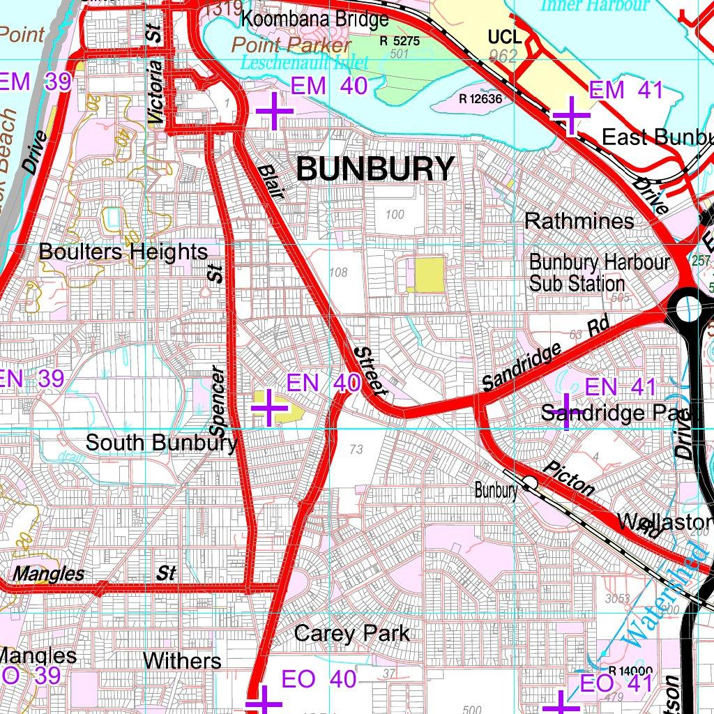 COG Series Map 2031-23: BUREKUP & BUNBURY - Dept