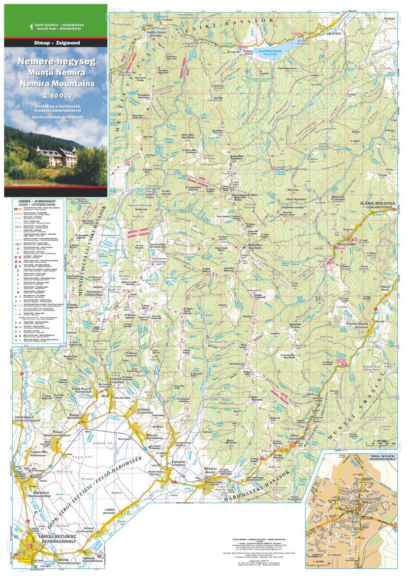 Nemira Mountains Nemere Hegyseg Dimap Bt Avenza Maps