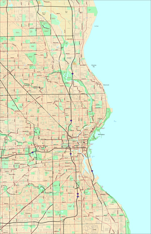 Milwaukee Bike Route Sampler