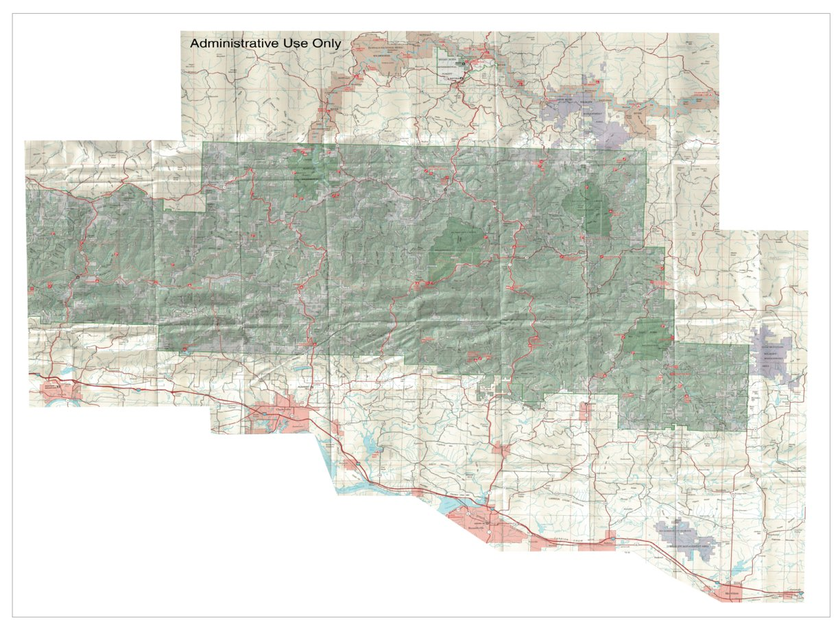 Ozark National Forest (East) - US Forest Service R8 - Avenza Maps