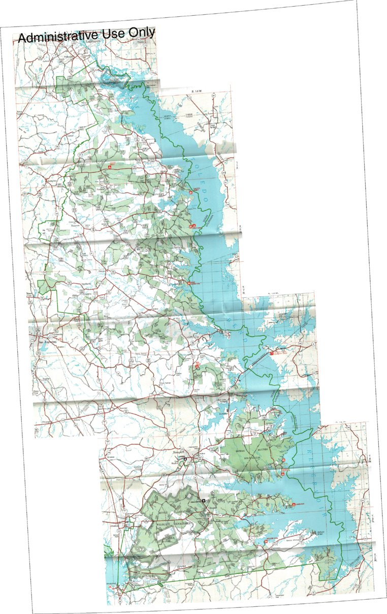 Sabine National Forest Visitor Map US Forest Service R8 Avenza Maps