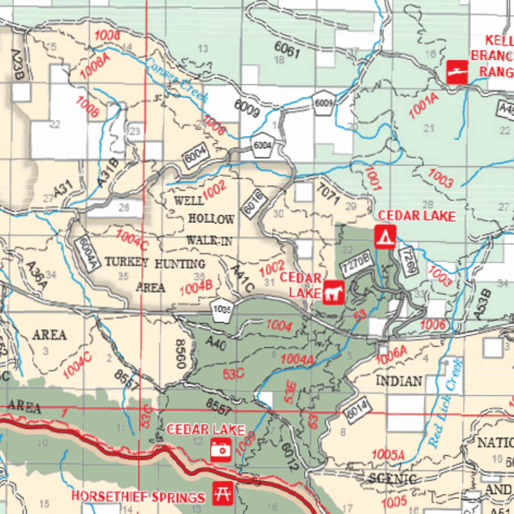 Ouachita National Forest - US Forest Service R8 - Avenza Maps