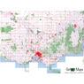 Getlost Maps Index Map - Victoria
