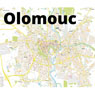 Olomouc city map – UNESCO site