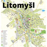 Litomyšl city map – UNESCO site
