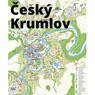Český Krumlov city map – UNESCO site