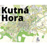 Kutná Hora city map – UNESCO site