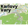 Karlovy Vary city map