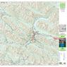 Banff Topographic Map 2020
