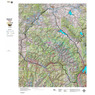 CO Mountain Goat Unit G6 Topographical Map