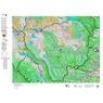 CO Moose Unit 28 Land Ownership, Kill Site, and Habitat Map