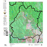 Colorado Unit 77 Land Ownership Map with Elk and Mule Deer Concentrations