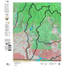 Colorado Unit 751 Land Ownership Map with Elk and Mule Deer Concentrations
