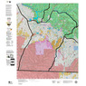 Colorado Unit 73 Land Ownership Map with Elk and Mule Deer Concentrations