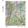 Colorado Unit 861 Mule Deer Summer, Winter Concentration Map