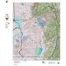 Colorado Unit 83 Mule Deer Summer, Winter Concentration Map