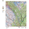 Colorado Unit 7 Mule Deer Summer, Winter Concentration Map