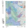 Colorado Unit 84 Mule Deer Summer, Winter Concentration Map 2021