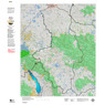 Montana Moose Hunting District 494 Land Ownerhip Map