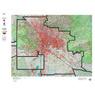 AZ Unit 38M Mule Deer Concentration Map