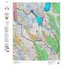 Idaho Controlled Mule Deer Unit 72(1) Land Ownership Map (72-1)