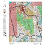 Idaho Controlled Moose Unit 70 Land Ownership Map