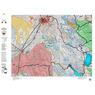 Idaho Controlled Moose Unit 69(1) Land Ownership Map (69-1)