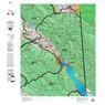 Idaho Controlled Moose Unit 67(2) Land Ownership Map (67-2)