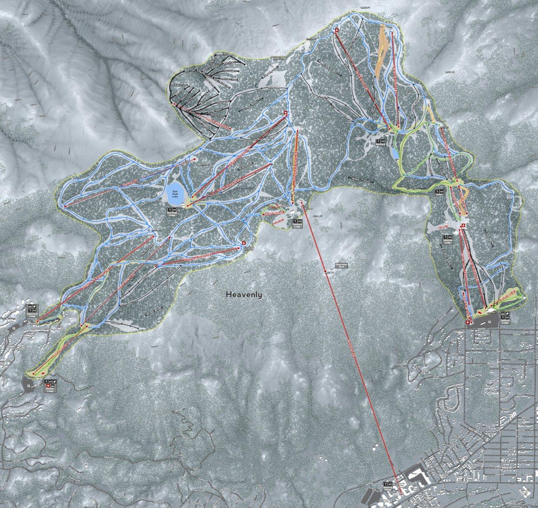 Heavenly Resort - Mapsynergy - Avenza Maps on