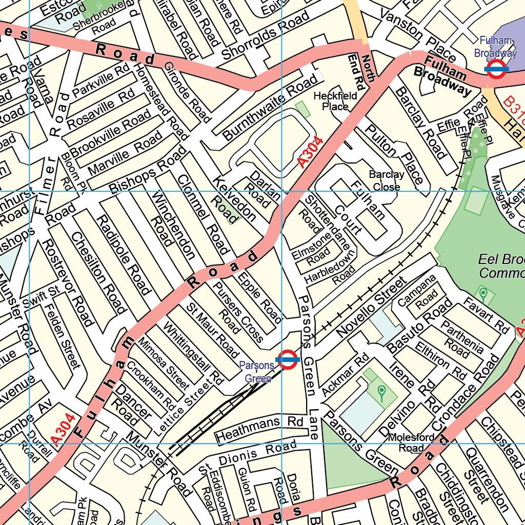 London Sw Map.Xyz London South West Imap Xyz Maps Avenza Maps